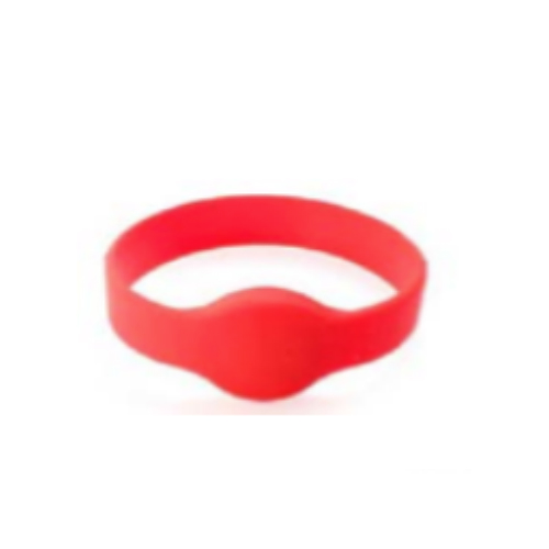 Round Silicon Wristband